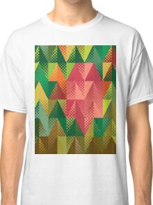 Abstract triangles 5 Classic T-Shirt