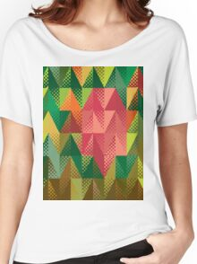 Abstract triangles 5 Women's Relaxed Fit T-Shirt