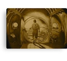 The Hobbit (Sepia) Canvas Print