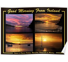 Good Morning From Ireland Poster