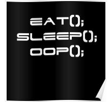 Eat, Sleep, OOP Poster