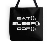 Eat, Sleep, OOP Tote Bag