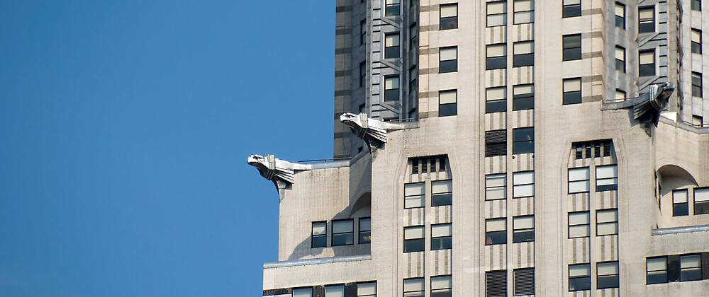 Chrysler Building Gargoyles by Louis Galli