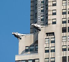 Chrysler Building Gargoyles by Louis Galli