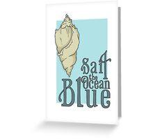 Sail the Ocean Blue Greeting Card