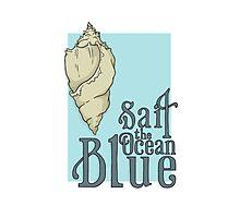 Sail the Ocean Blue Photographic Print