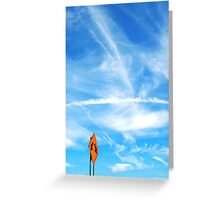 Directing the Clouds Greeting Card