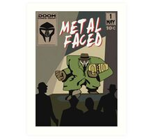 Metal Faced - Comic Cover Art Print