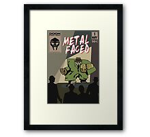 Metal Faced - Comic Cover Framed Print