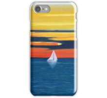 Sunset Sail iPhone Case/Skin