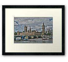 Houses of Parliment Framed Print