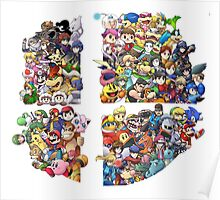 Super Smash Bros. 4 Ever Poster