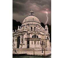 Storm in Venice Photographic Print