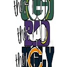 The Good, The Bad, The Ugly (Packers, Vikings, Bears) - iPhone Case by sullat04