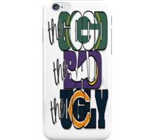 The Good, The Bad, The Ugly (Packers, Vikings, Bears) - iPhone Case iPhone Case/Skin