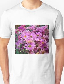 Pink Asters 3 Unisex T-Shirt
