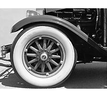 Vintage Auto Detail Photographic Print