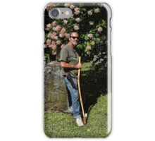 The walking stick iPhone Case/Skin