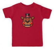 Five Nights at Freddy's 2 - Pixel art - Toy Freddy Kids Tee