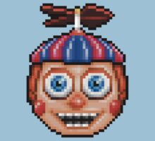 Five Nights at Freddy's 2 - Pixel art - Balloon Boy Kids Tee