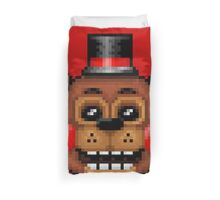 Five Nights at Freddy's 2 - Pixel art - Toy Freddy Duvet Cover