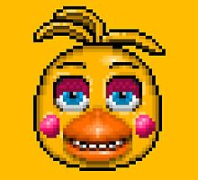 Five Nights at Freddy's 2 - Pixel art - Toy Chica by GEEKsomniac