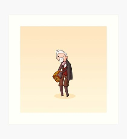 Adventure Time and Space! War Doctor Art Print
