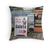 Sandwich Boards and others Throw Pillow