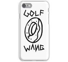 Odd Future Golf Wang iPhone Case/Skin