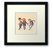 Adventure Time and Space! 11th Doctor Framed Print