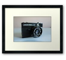 Retro Camera Framed Print