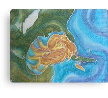 Katrina in the Gulf Canvas Print