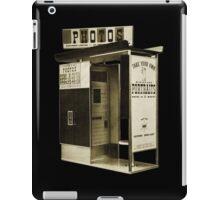 Model 12 Photobooth iPad Case/Skin