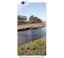 Bridge on the riverside between Burnsall and Grassington iPhone Case/Skin