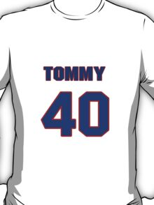 National baseball player Tommy Boggs jersey 40 T-Shirt