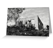 The Old Stone House Of Valyermo Greeting Card