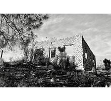 The Old Stone House Of Valyermo Photographic Print