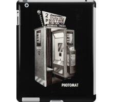 Vintage Photobooth iPad Case/Skin