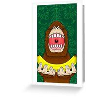 Ooooh Banana Greeting Card