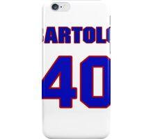 National baseball player Bartolo Colon jersey 40 iPhone Case/Skin