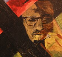 Malcom X by Sandra Gray