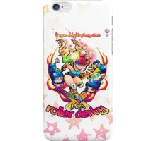 If you Can't Play Nice, Play Roller Derby! iPhone Case/Skin