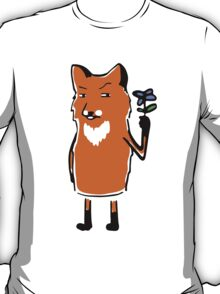 Fox with Flower T-Shirt