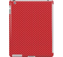 Knitted cozy pattern ) iPad Case/Skin