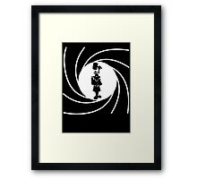 Double O Gadget Framed Print