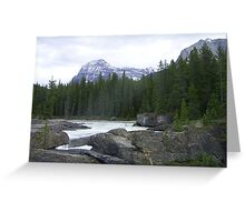 Canada Lake Greeting Card