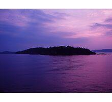 Lake Superior Island Photographic Print