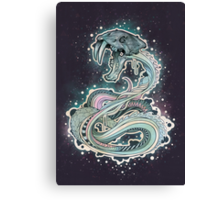 Saber-toothed Serpent in Space Canvas Print