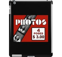 1990's Photobooth Display iPad Case/Skin