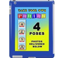 Modern Photobooth Display iPad Case/Skin